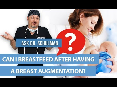 Can I Breastfeed After My Breast Augmentation Ask Doctor Schulman