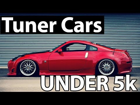 5 MODIFIED Cars UNDER $5,000 (Best Tuner Cars)