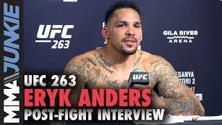 Eryk Anders feels validated with win in Darren Stewart rematch | UFC 263 interview