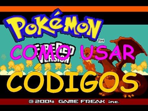 Como Usar Codigos/Cheats no Pokemon Fire Red