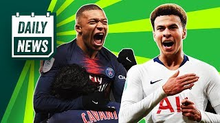 Should Sarri be sacked at Chelsea? PSG 9-0 Guingamp + Spurs lose Dele Alli ► Onefootball Daily News