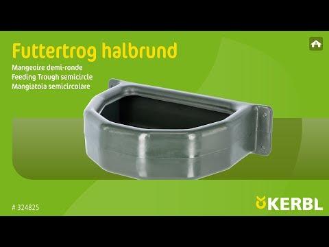 Futtertrog halbrund (#324825) (DE)