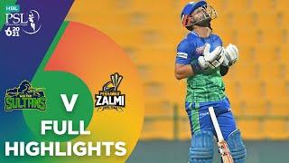 Full Highlights | Peshawar Zalmi vs Multan Sultans | Match 21 | HBL PSL 6 | MG2T
