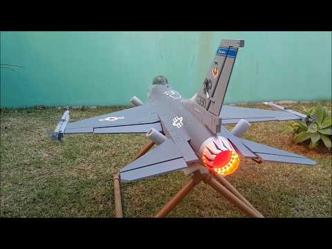 How To Install LED Afterburn On The F 16C Freewing 70mm