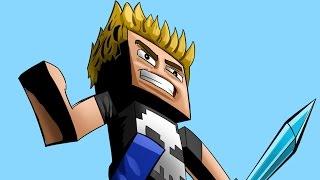 How I draw MINECRAFT characters - Comic-book style Minecraft Avatar (speedpaint)[Skullk]