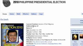 How to join in 2010 Presidential Election Facebook Application.mp4