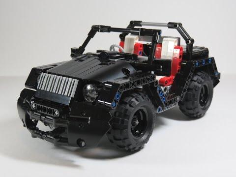 lego technic rc mini jeep youtube. Black Bedroom Furniture Sets. Home Design Ideas