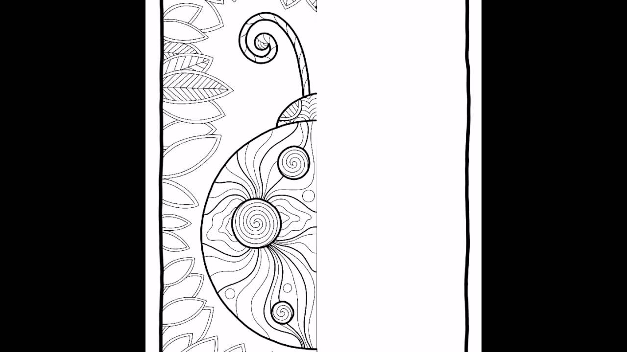 Mental Images Vol 2 Colouring Book Image 14