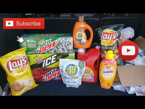 Family Dollar Couponing ! Easy Food & Laundry Deals!