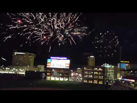 El Paso Chihuahuas fireworks display July 3rd 2016