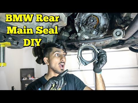 How To Replace BMW Rear Main Seal