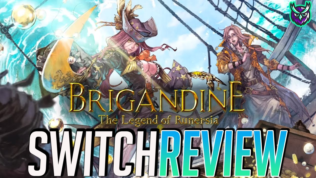 Brigandine: Legend of Runersia Switch Review (Video Game Video Review)