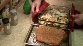 Maple & Citrus Salmon On The Grill! With Summer Veggie Casserole!