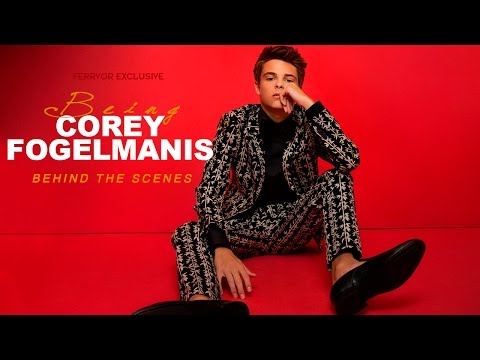 BEING Corey Fegelmanis The BTS Ferrvor Cover Shoot