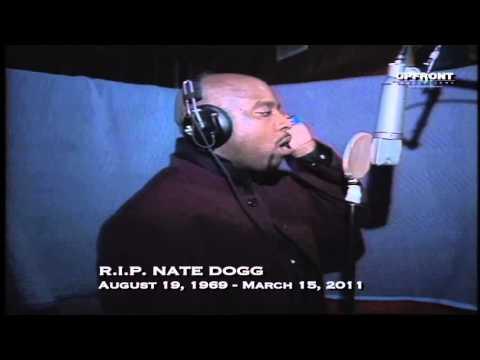 Nate Dogg in studio singing (Exclusive footage) by filmmaker Keith O'Derek