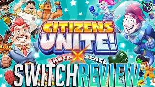 Citizens Unite: Earth x Space Switch Review - A Double Helping of JRPGs! (Video Game Video Review)