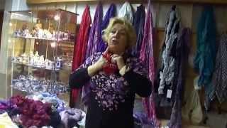 Как красиво завязать шарф, косынку, палантин(Отличный мастер-класс!!! Интересно и полезно будет всем женщинам. 25 способов как завязать платок., 2014-04-09T10:07:23.000Z)