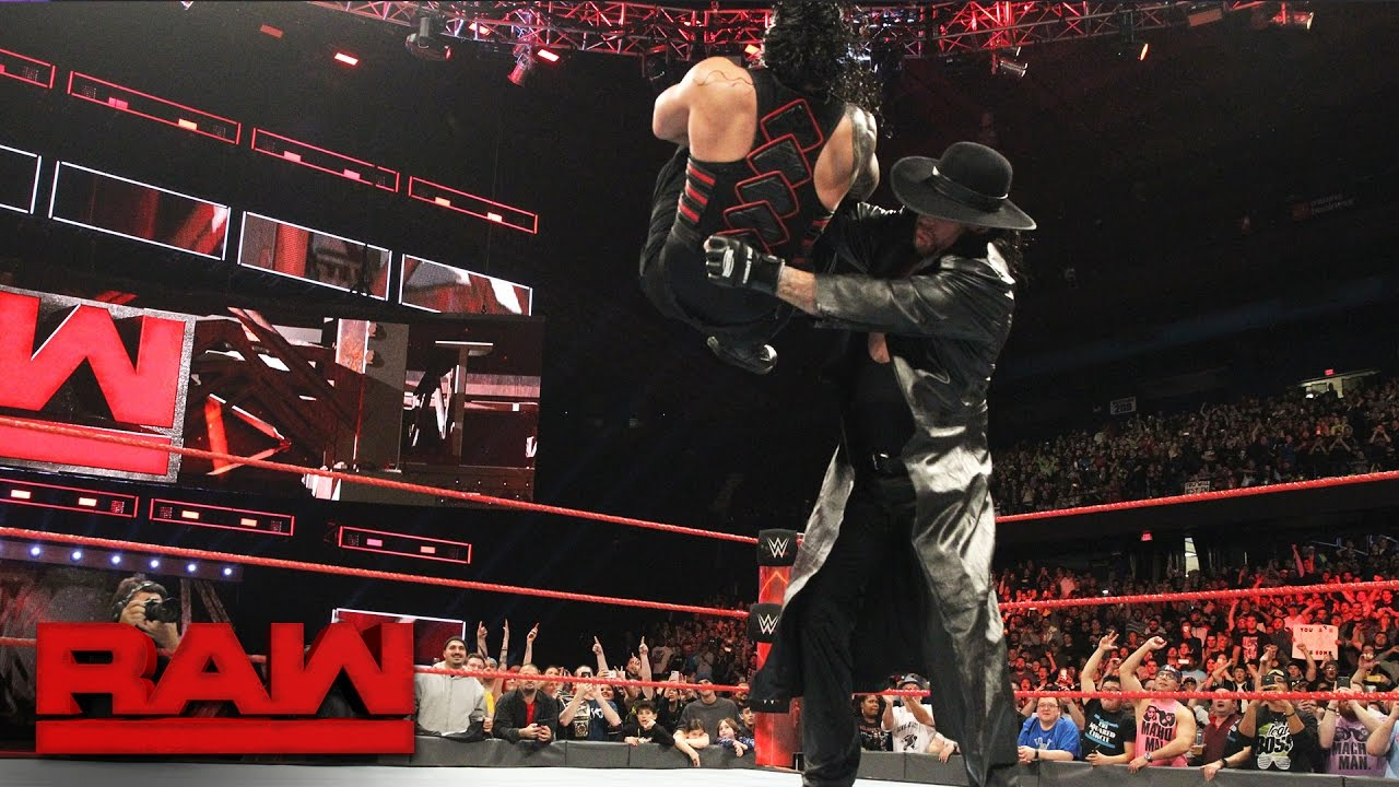 Download Roman Reigns has a chilling encounter with The Undertaker: Raw, March 6, 2017