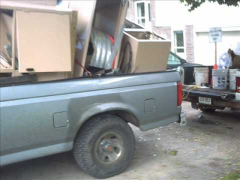 Hauling 1,160 Pounds Of Metal Action.
