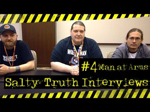Man at Arms Otakon Interview: The Salty Truth