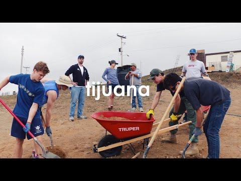 Building a Community - Jesuit High School Tijuana Immersion Trip