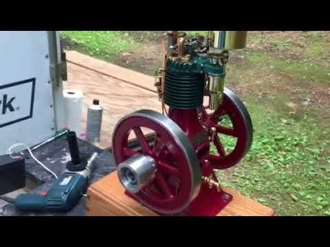 Perkins Vertical side shaft model Hit and Miss model engine