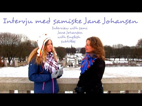 Jane Johansen om samisk spiritualitet. J. Johansen on Sami Spiritual Tradition (English subtitles)