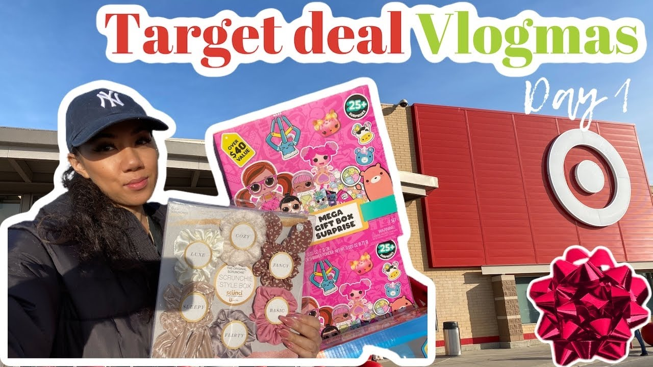 Vlogmas |Day 1 part 1 - Target deals & Xmas shopping