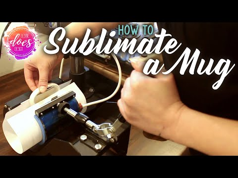 How To Sublimate A Mug - Sublimation Transfer Tips