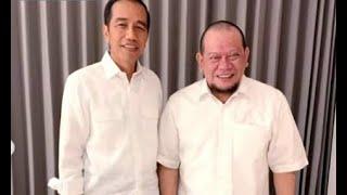 Bertemu Presiden Jokowi, La Nyalla Minta Maaf