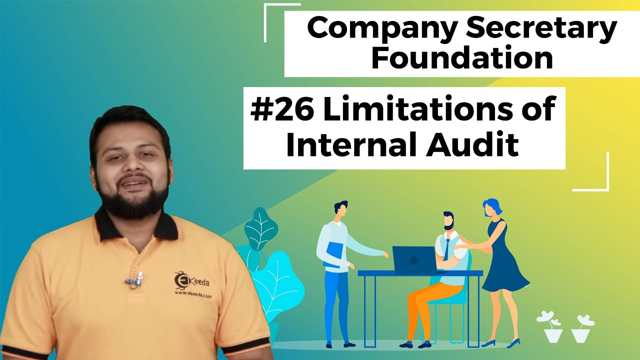 Limitations Of Internal Audit Tools Of Auditing Cs Foundation Youtube
