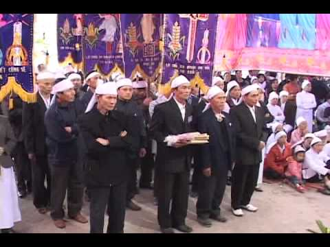 lễ an táng cha Giuse Vũ Văn Đại 5 đền thánh Sa Châu làng Gòi Giao Châu
