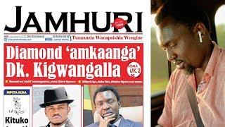 Dk. Kigwangalla kulishtaki gazeti lililomzushia kuwalipa Mamilioni Diamond, Millard, mastaa wengine