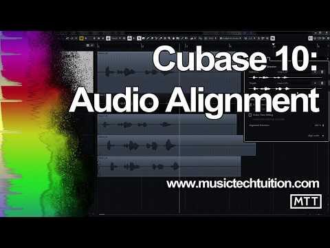 Cubase 10: Audio Alignment