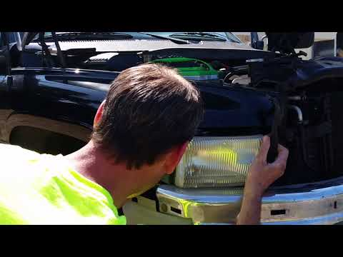 "94-02 Dodge Ram Headlamp Assembly Replacement ""DIY"" How To"