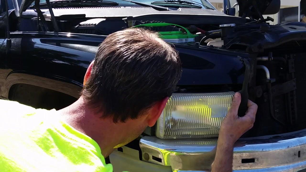 94 02 Dodge Ram Headlamp Embly Replacement Diy How To