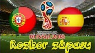 Co rozhodlo zápas Španělsko-Portugalsko?|Rozbor zápasu|