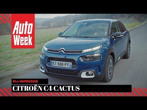 Citroën C4 Cactus (2018) - AutoWeek review - English subtitles
