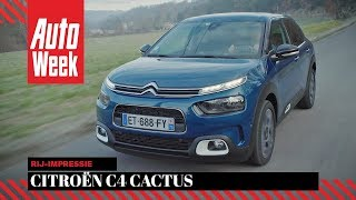 Citroën C4 Cactus (2018) - AutoWeek review - English subtitles