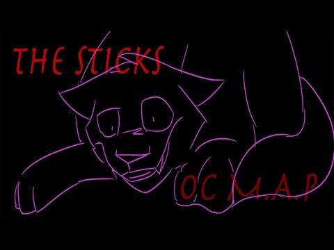 -Sticks- OC SKETCH MAP .:COMPLETE:.