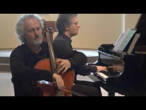 Mario Brunello e Andrea Lucchesini - Ich ruf zu dir, Herr Jesu Christ (J.S.Bach)