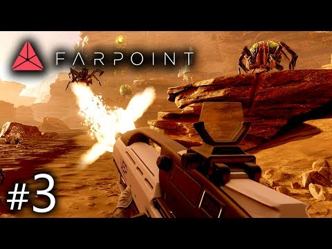 Farpoint Gameplay Part 3 - Relativity is a Bitch | Farpoint PSVR