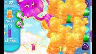Candy Crush Soda Saga LEVEL 361 ★★★STARS( No booster )