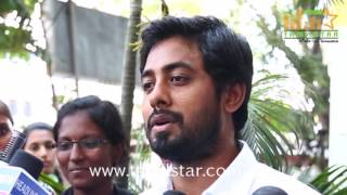 Actor Aari Against Banks Charges - Students Awareness Program In Post Office
