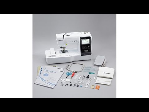 Brother Project Runway Embroidery and Sewing Machine from YouTube · Duration:  18 minutes 31 seconds