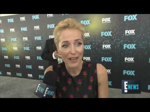 David Duchovny  Gillian Anderson on X Files Revival
