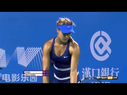 Eugenie Bouchard -The hottest player ever 1080p