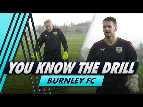 Bulldog's Goalkeeping Challenge | You Know The Drill - Burnley FC With Tom Heaton