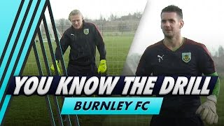 Bulldogs Goalkeeping Challenge  You Know The Drill - Burnley FC with Tom Heaton