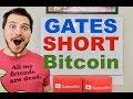 Bill Gates to SHORT BITCOIN?!